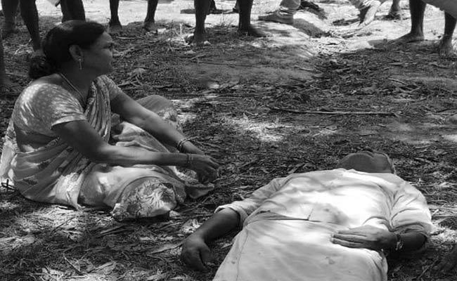 Former Sarpanch brutal Assassination In Srikakulam District - Sakshi