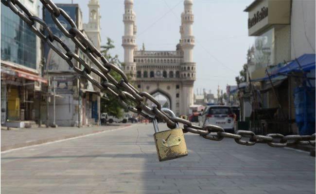 Lockdown In Telangana All Boundaries Closed - Sakshi