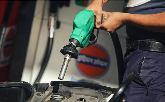 petrol diesel prices for eighth time since May 4 - Sakshi
