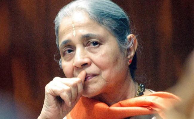 Times Group chairman Indu Jain attains nirvana - Sakshi