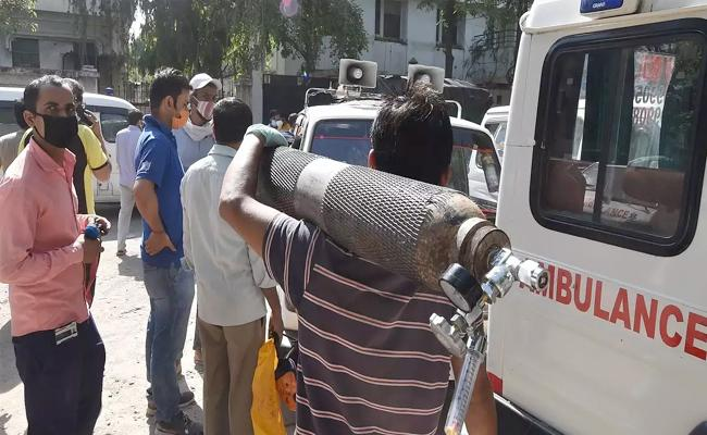Andhra Pradesh Has Significant Progress In Oxygen Supply - Sakshi