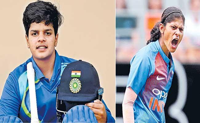 Shafali Verma, Radha Yadav Set To Make Womens Big Bash League Debuts - Sakshi