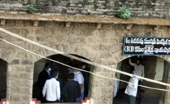 MP Raghurama Krishnamraju Will Produced Before CID Court - Sakshi