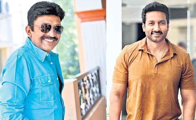 Rajasekhar Intense Look in Gopichand Next Movie - Sakshi