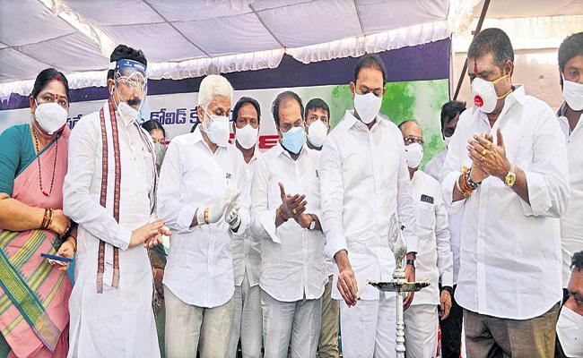 Alla Nani Comments about Under auspices of Pragati Bharat Foundation - Sakshi
