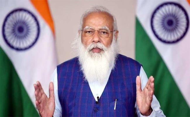 PM Modi Holds Meeting On Covid situation And Vaccination Drive - Sakshi