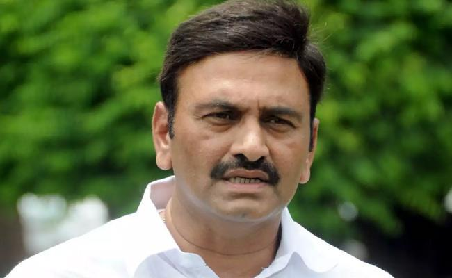 Narsapuram MP Raghu Rama Krishnam Raju arrested - Sakshi