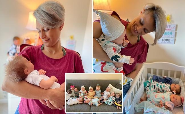 Divorced Mom Spends Thousands on Lifelike Dolls After Kids Move in With Their Dad - Sakshi