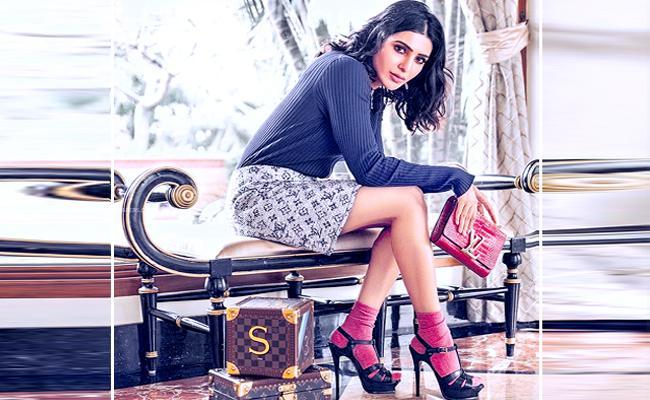 Samantha Favourite Vuitton Bag Cost Shocks You - Sakshi