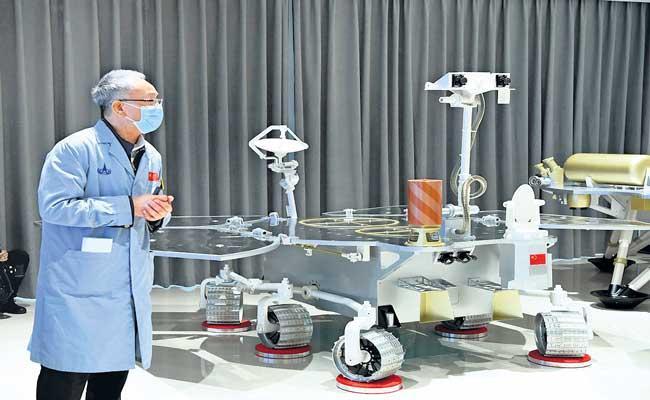 China lands rover on Mars - Sakshi
