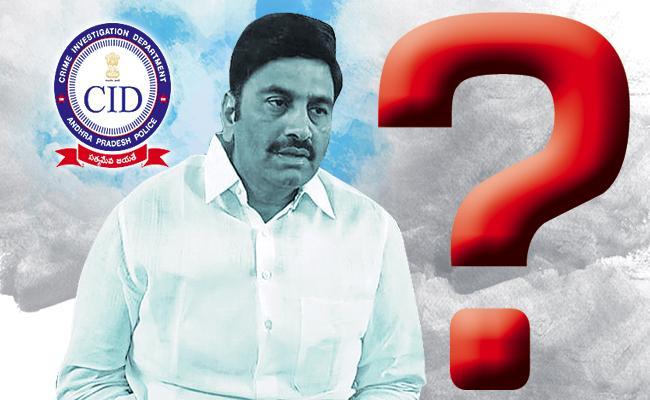 AP CID officials questions to MP Raghuram Krishnamraju - Sakshi