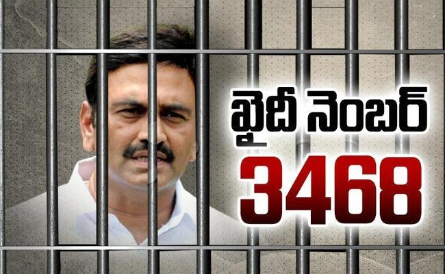 MP Raghu Rama Krishnam Raju Taken To Guntur Jail - Sakshi