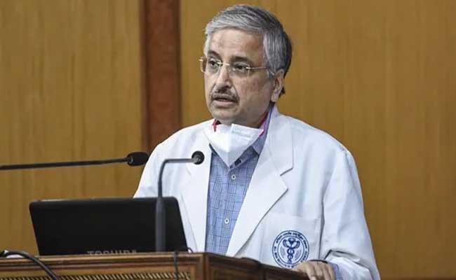 AIIMS chief Dr Guleria warns of surge in fungal infection in Covid patients - Sakshi
