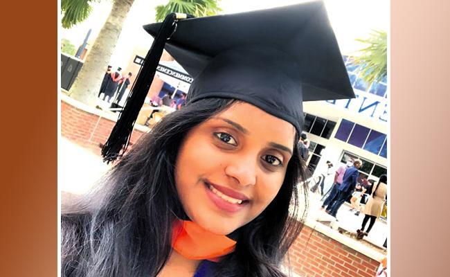 Microsoft Selects Hyderabad Student Narkuti Deepthi At Rs 2 Crore Package - Sakshi