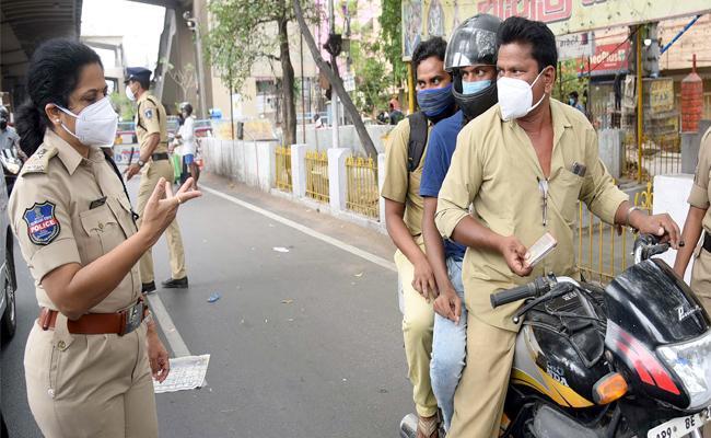 Disregard For Lockdown Regulations - Sakshi
