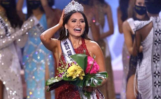 Miss Universe 2021: Mexico Andrea Meza Wins Crown Her Details - Sakshi