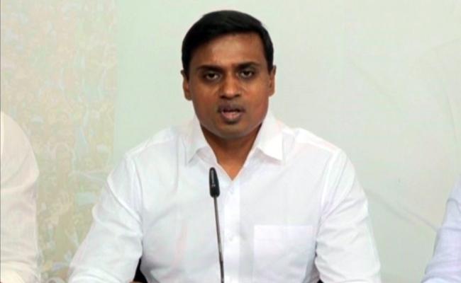 MP Mithun Reddy Slams Raghu Rama Krishnam Raju Comments - Sakshi