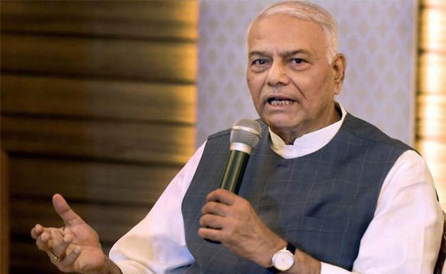 Yashwant Sinha Attack On Pm India Sent More Vaccines Abroad Un Video - Sakshi