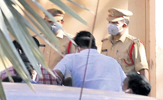 CID transferred Raghu Rama Krishna Raju to Guntur District Jail - Sakshi