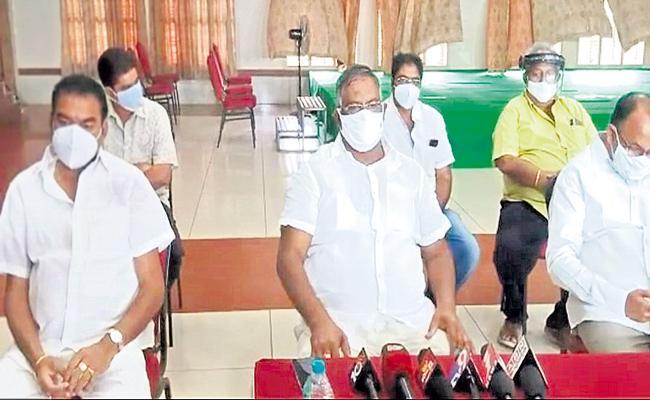 TDP Failure In Raghu Rama Krishna Raju Issue - Sakshi
