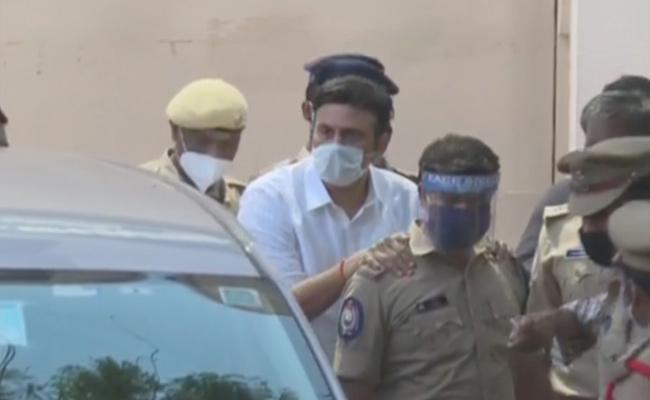 Raghu Rama Krishnam Raju Taken To The Hyderabad - Sakshi