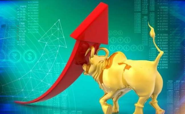 Sensex jumps 613 points, Nifty settles above 15100 - Sakshi