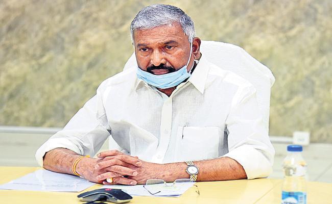 Peddireddy Ramachandra Reddy Comments On Corona virus - Sakshi