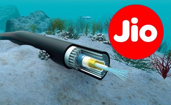 Reliance Jio to construct largest international submarine cable system - Sakshi