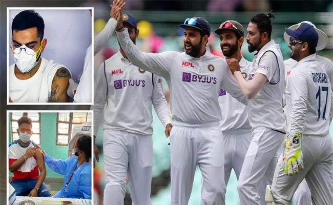UK Health Department To Administer Covid Vaccine 2nd Dose For Kohli And Co - Sakshi