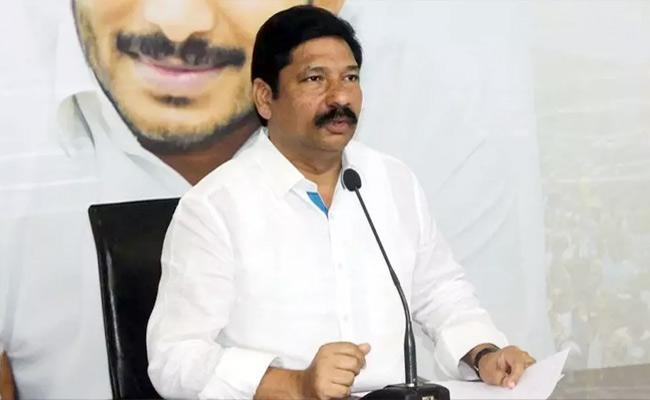 YSRCP MLA Jogi Ramesh Comments On Chandrababu - Sakshi