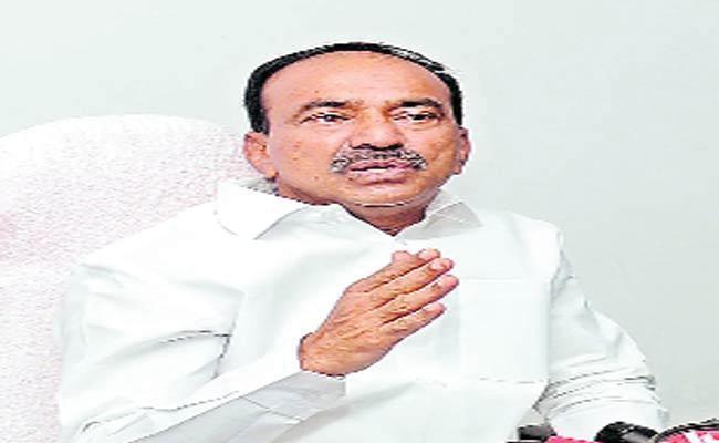 Etela Fire On Minister Gangula Kamalakar - Sakshi