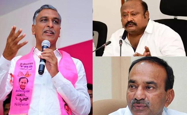 Etela vs Gangula: Huzurabad Responsibilities Will Be Hand Over To Harish Rao - Sakshi