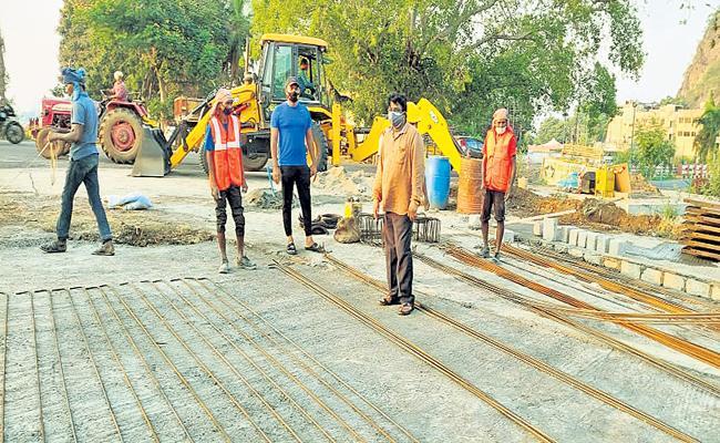 Development of Krishna Dam with Rs 150 crore - Sakshi
