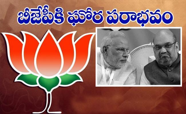 Bad Results For BJP In Kerala, TamilNadu, West Bengal - Sakshi