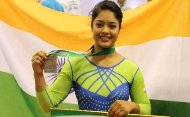 Gymnast Pranati Nayak Qualified To Compete In Tokyo Olympics - Sakshi