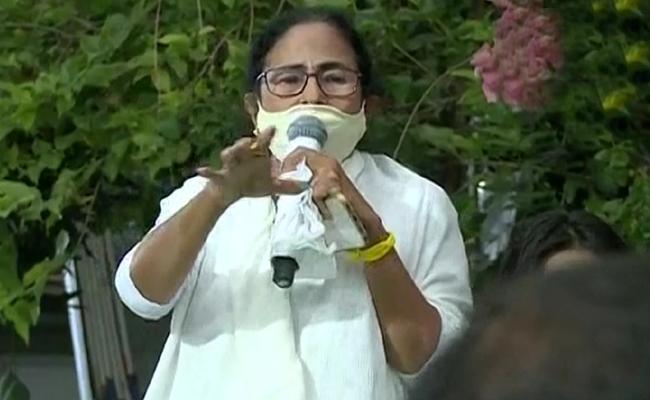 Mamata Banerjee Press Meet After Nandigram Victory - Sakshi