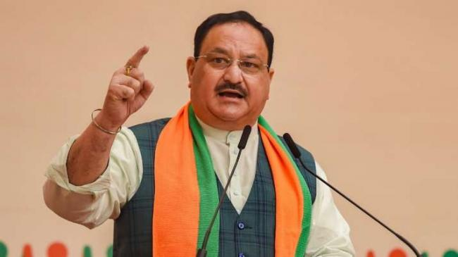JP Nadda Says Covid Vaccine to Be Available For All By December - Sakshi