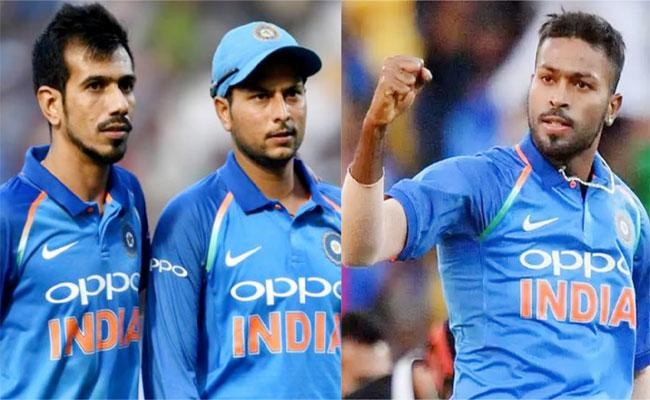 Chahal Says Kuldeep And I Played Together If Jadeja Was Medium Pacer - Sakshi