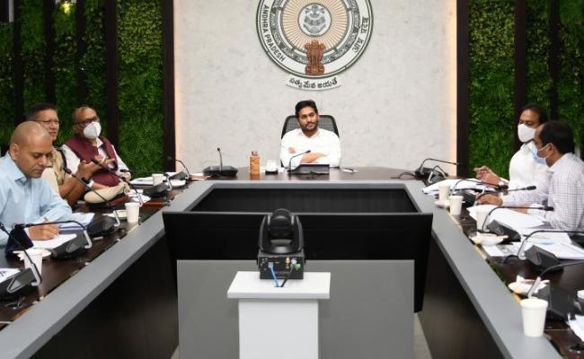 CM YS Jagan Review on Corona Control Measures - Sakshi