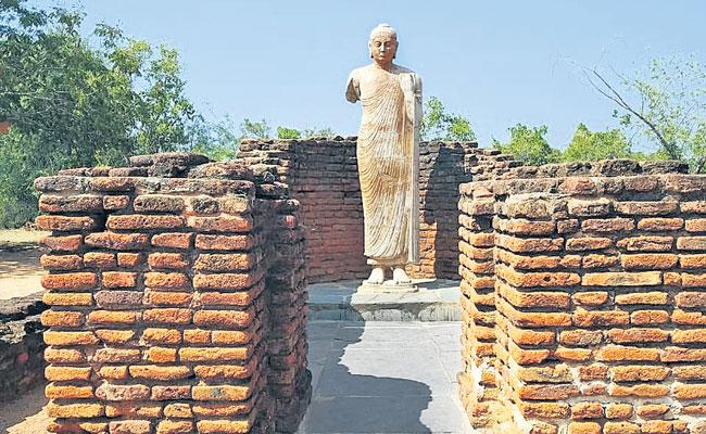 Anupu Nagarjuna Sagar: Acharya Nagarjuna University, Ancient Buddhist University - Sakshi