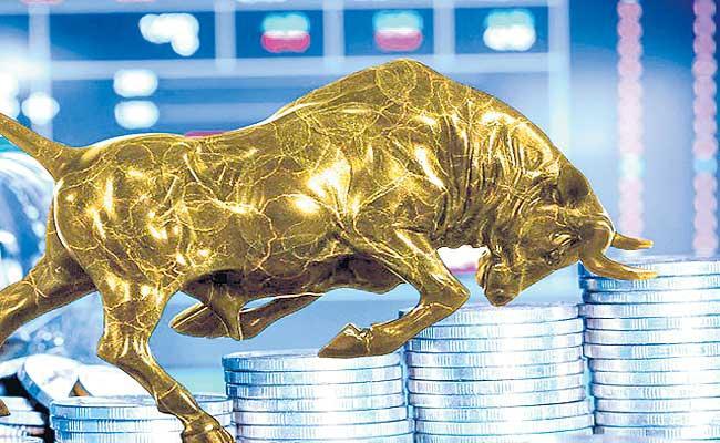 Sensex rises 500 points as financials rebound, SBI results awaited - Sakshi