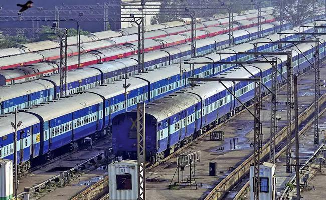 Several Trains Canceled Due To Cyclone Yaas - Sakshi