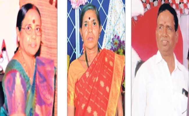Three Members Of Same Family Deceased Due To Corona - Sakshi