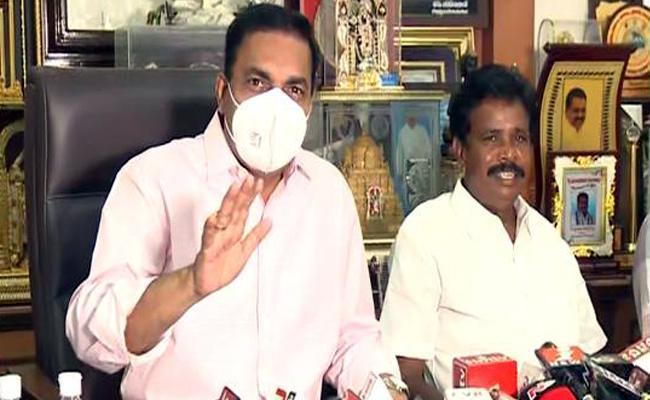 Kakani Govardhan Reddy Comments On Krishnapatnam Ayurvedic Medicine - Sakshi
