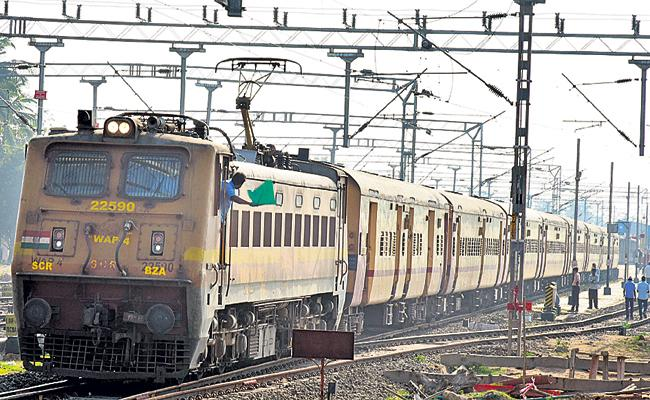 Several trains canceled due to Yaas Cyclone - Sakshi