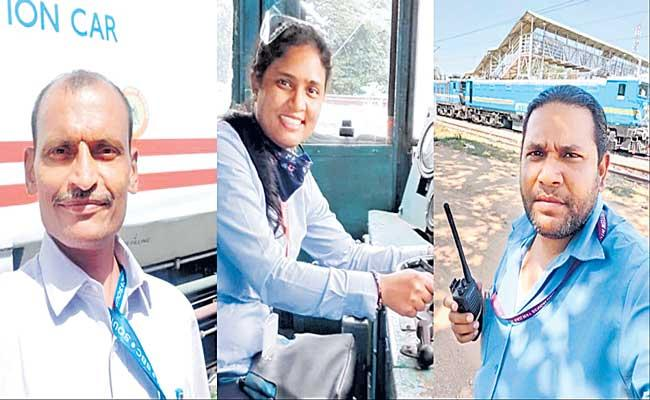 woman loco pilot neelima kumari, bring in life-saving Oxygen for Karnataka - Sakshi