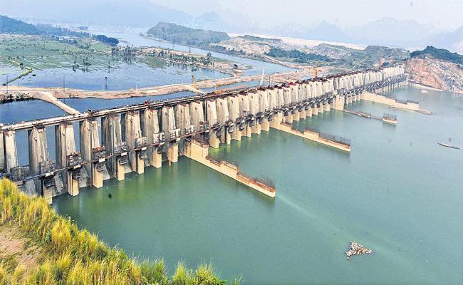 NIWA not responded on Polavaram Navigation Tunnel, Canal Expenditure - Sakshi