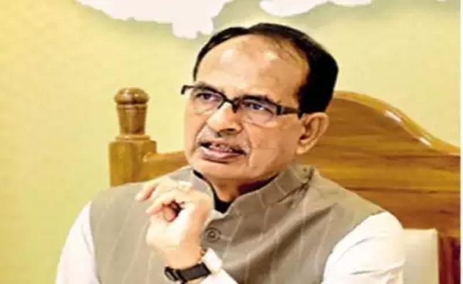 Why Are You Watching Blindly Like Dhritarashtra MP CM Questioned Sonia - Sakshi