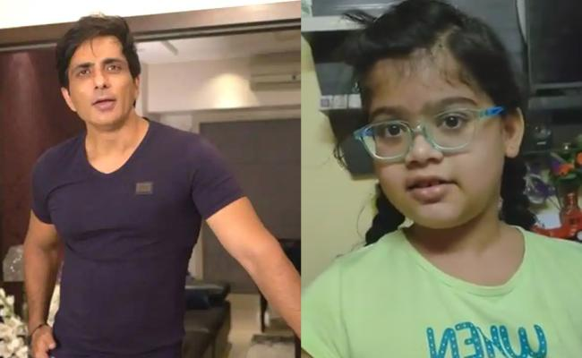 I Want To Became Sonu Sood Says Kid - Sakshi