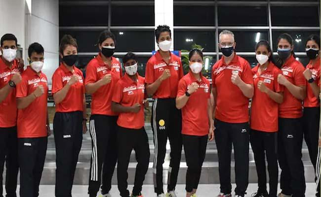 Asian Boxing Championships: Indian 7 Women Boxers Assured Of Medals - Sakshi